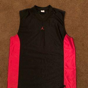 Large Jordan jersey shirt